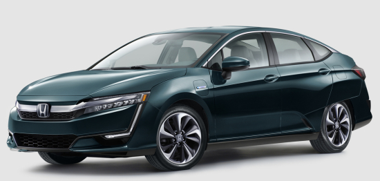 photo image 2018 Honda Clarity Plug-in Hybrid EPA-rated at 47 miles electric range