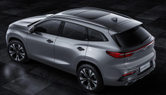 photo image Chery to launch new EXEED line; hybrid, plug-in hybrid and battery-electric