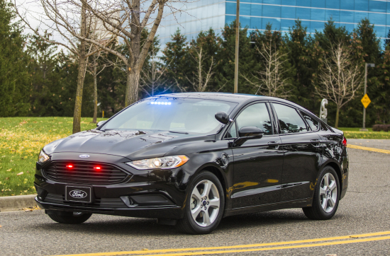 Ford unveils its first plug-in hybrid vehicle for police and government customers