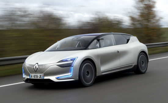 Renault Takes Level 4 Ev Symbioz Demo Car On The Road Green Car