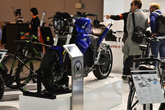 Evoke Urban Classic Unveil at EICMA 2017 Milan