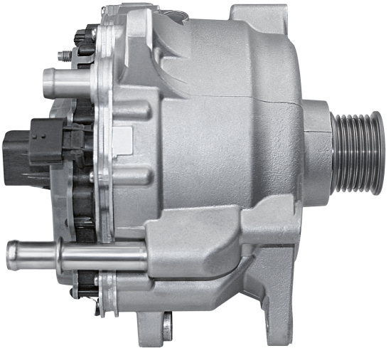 Continental Supplying 48 Volt Belt Starter Generator With Integrated Electronics For Audi A8