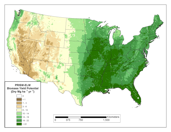 Biomass Potential The Billion-Ton Study Update