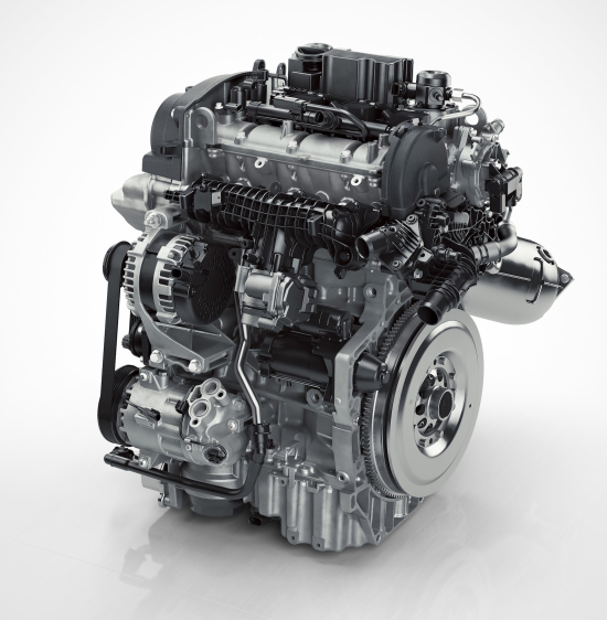 168208_drive E 3 Cylinder Petrol Engine Front