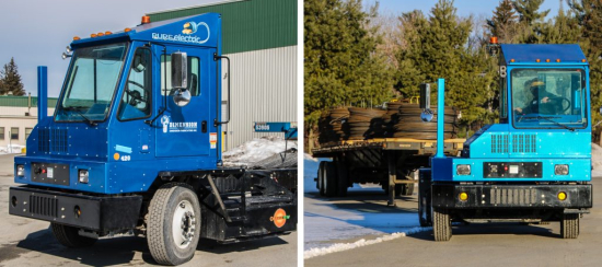 Dimension Fabricators deploys Orange EV electric yard ...