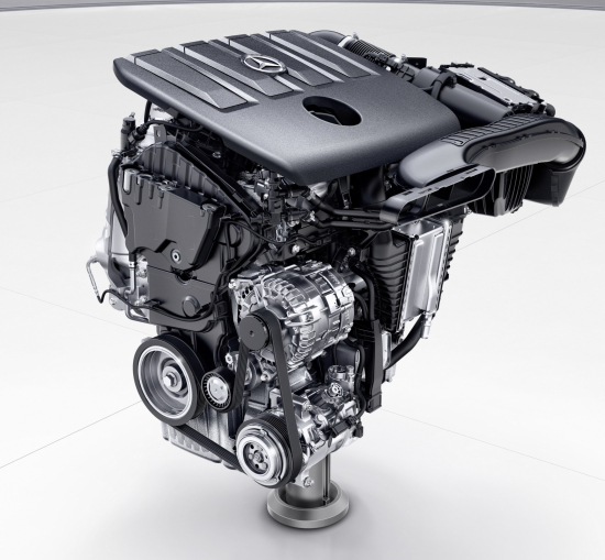 Mercedes benz targeting average diesel nox of 30mg km in for Mercedes benz 5 cylinder diesel engine