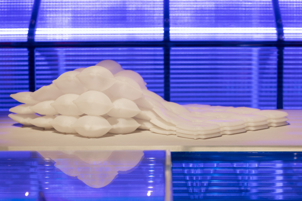 BMW and MIT Self-Assembly Lab collaborate to design the first printed inflatable material; liquid printed pneumatics