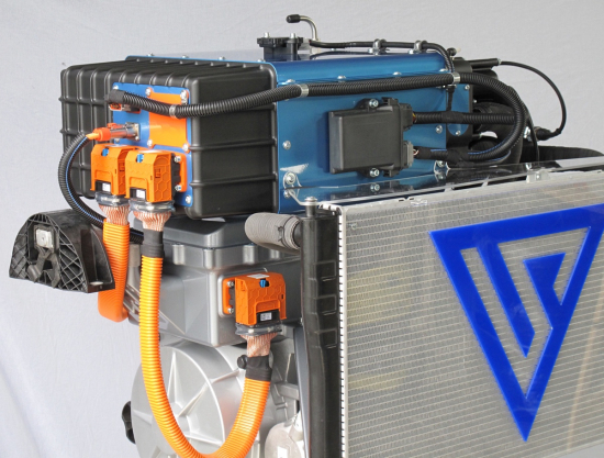 Symbio intros 40 kW hydrogen fuel cell range-extending