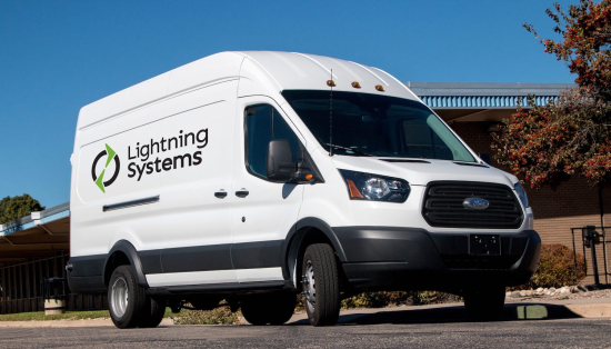 Lightning Systems expands all-electric model lineup for Ford Transit with 150-mile-range version