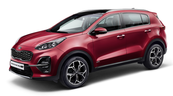 Kia unveils upgraded Sportage with diesel 48V mild-hybrid powertrain