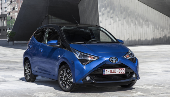 2018 Toyota AYGO mid-lifecycle update features enhanced 1 0L engine