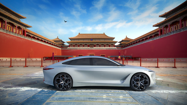 INFINITI developing all-new electric vehicle platform influenced by Q Inspiration concept