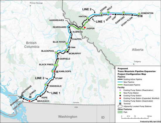 Map Of Canada Government Of Canada.Government Of Canada To Buy Trans Mountain Pipeline System And