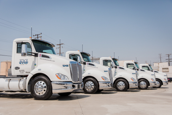 Food Express takes delivery of first 11 of 46 new ultra-low emission natural gas trucks