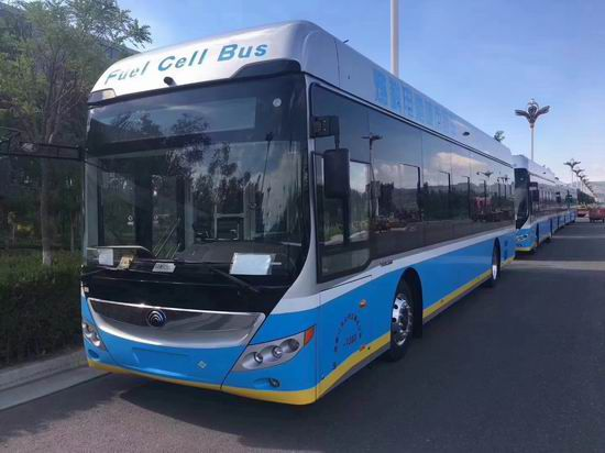 Yutong places 47 hydrogen fuel cell buses - Green Car Congress