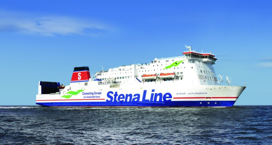 photo image Stena Line introducing battery-electric operation to ferry; three stages up to 50 all-electric nautical miles