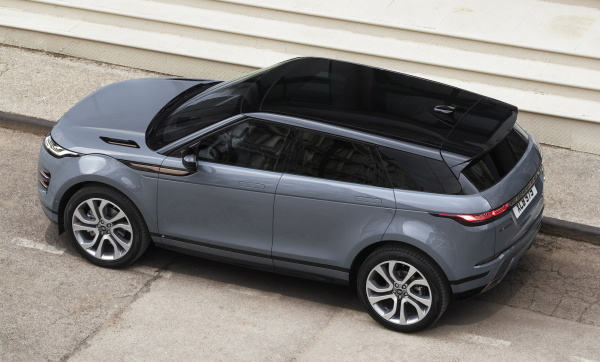 New Range Rover Evoque offers Land Rover's first 48V MHEV