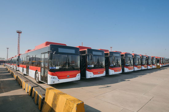 Yutong Bus To Deliver 100 Electric Buses To Chile Green Car Congress