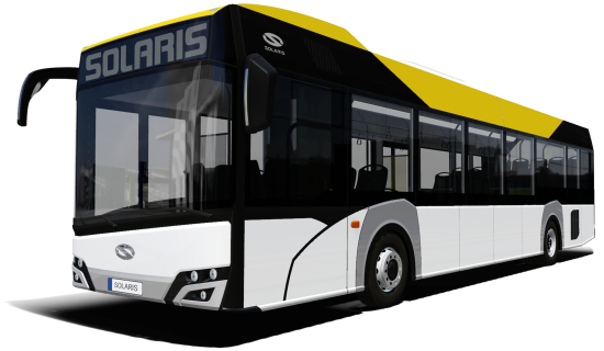 photo image Solaris introducing new Urbino 12 LE lite hybrid; facelifted electric and hybrid models as well