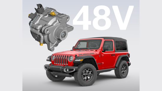 Continental supplying 48V Eco-Drive for Jeep Wrangler