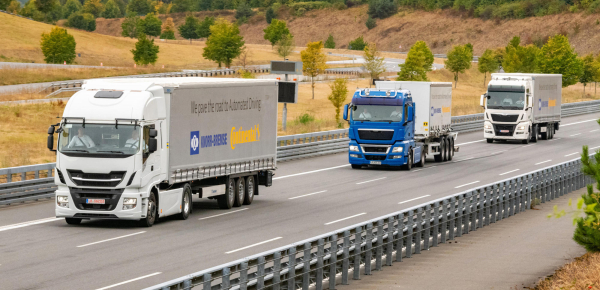 Continental, Knorr-Bremse partner on highly automated driving in commercial vehicles; platooning first