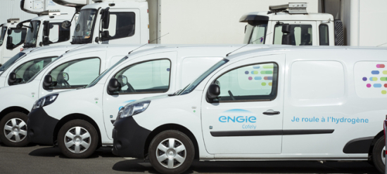 photo image ENGIE launches fleet of 50 hydrogen fuel cell Renault Kangoo Z.E. vans, inaugurates first alternative multi-fuel station…