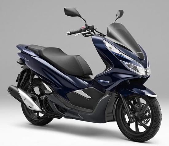 Honda To Launch Motorcycle Hybrid System Equipped Pcx Scooter