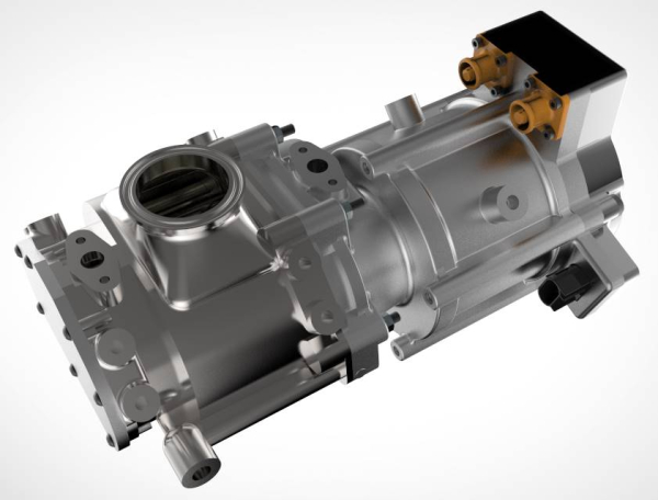 Eaton optimized TVS scavenging pump managing precision airflow for CARB-sponsored, Achates opposed-piston engine