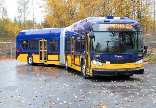 King County Metro to begin testing electric buses that can