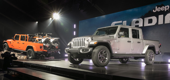 New Jeep Gladiator Pickup Will Offer 3 0l Diesel With Stop Start And