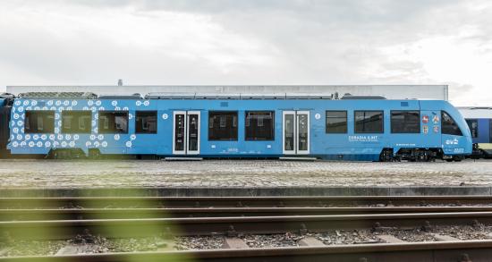 Two Alstom hydrogen trains enter passenger service in Lower