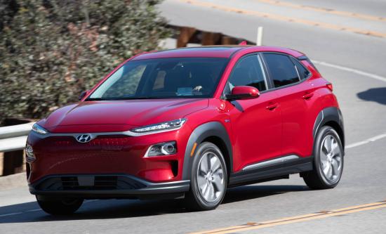 Hyundai presents Kona Electric crossover and NEXO fuel cell SUV