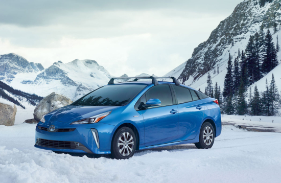 2019 Prius Offered With New Electric All Wheel Drive System