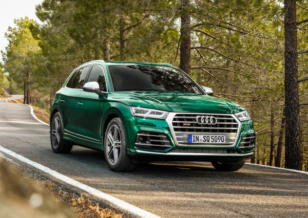 Audi's performance SQ5 diesel features electric compressor with mild