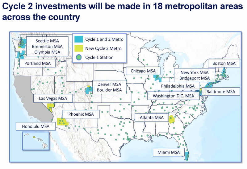 Map Electrify America National Cycle 2 Zev Investment Plan 020719 1