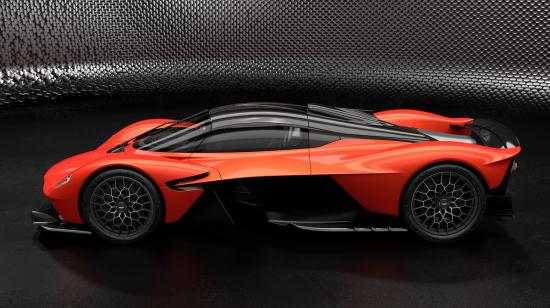 Performance Details On The Aston Martin Valkyrie Hypercar
