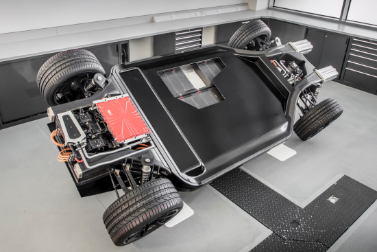 Williams Advanced Engineering FW-EVX electric vehicle platform concept