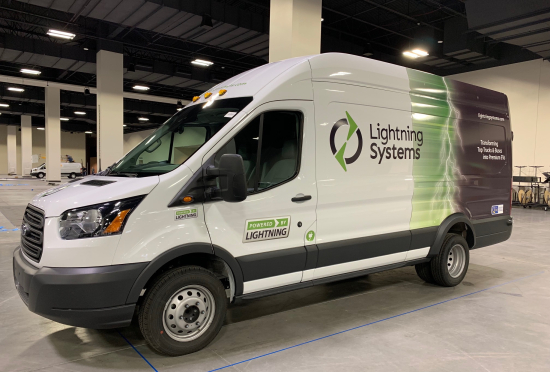 All-Electric Generation 2 Ford Transit by Lightning Systems