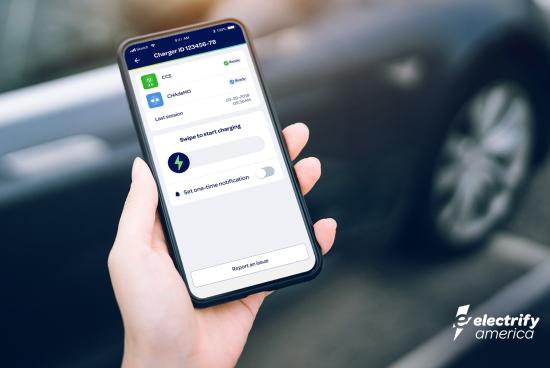 Electrify America Mobile App