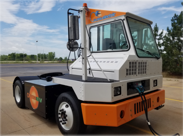 Dependable Supply Chain Services deploys Orange EV electric trucks as step towards zero-emission freight facility