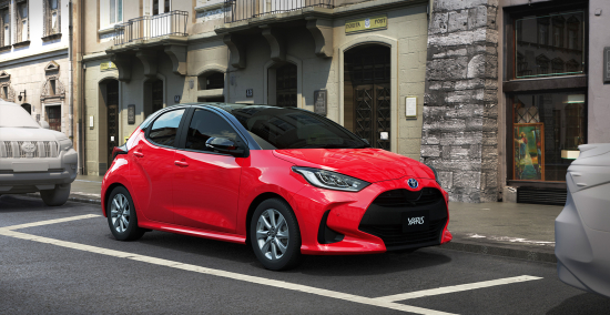 New Toyota Yaris Marks First Use Of Tnga For Compact New Hybrid