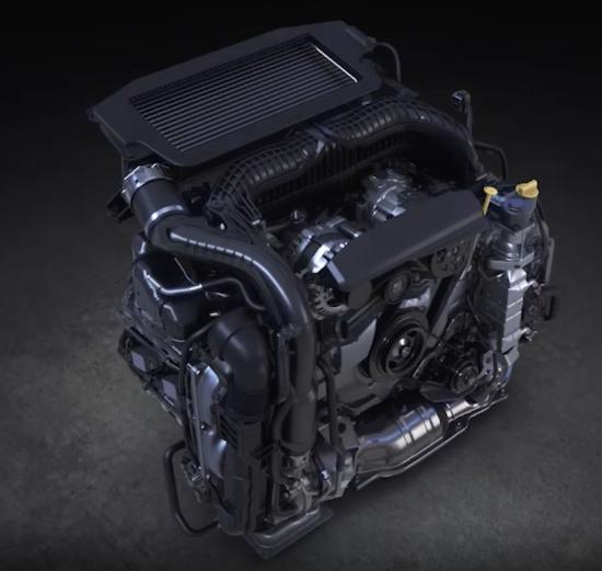 Subaru Boxer Engine >> Subaru Unveils Levorg Prototype With New 1 8l Boxer Engine