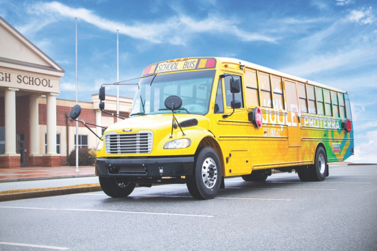 Thomas Built Buses >> Thomas Built Buses Electric School Bus Powered By Proterra