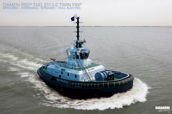 Ports of Auckland buys world's first electric tug