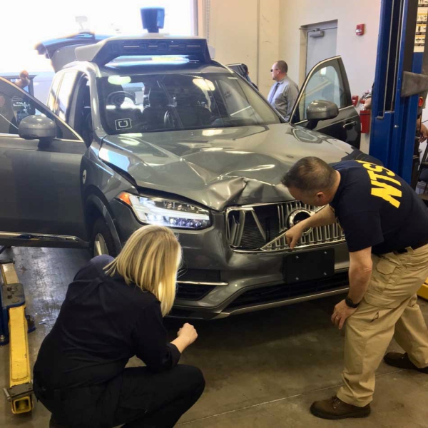 photo of NTSB calls for federal review process for automated vehicle testing on public roads after Uber investigation;… image