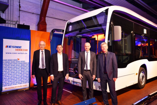 Mercedes-Benz to supply 56 electric urban buses to Wiesbaden