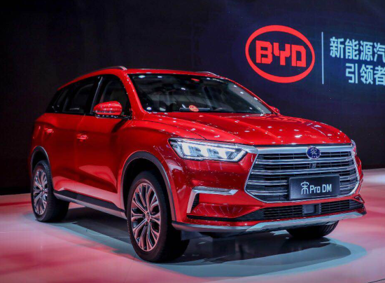 BYD debuts E-SEED GT concept car, Song Pro SUV and e Series at 2019