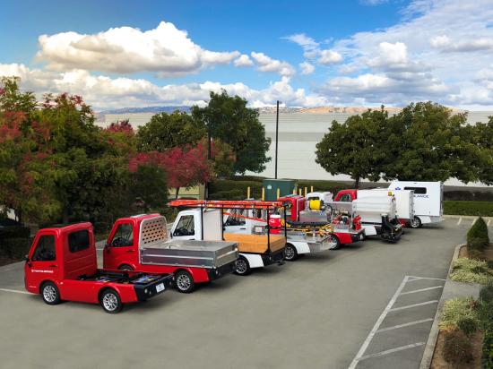Tropos Motors fleet of vehicles