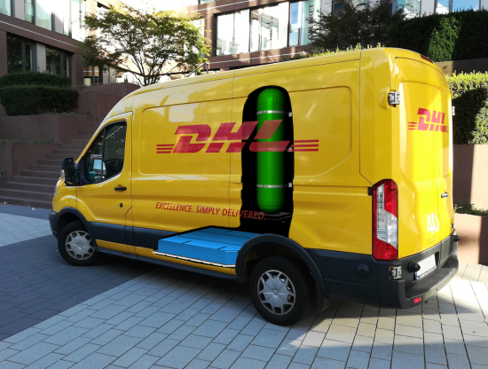 DHL and StreetScooter develop new fuel cell electric panel