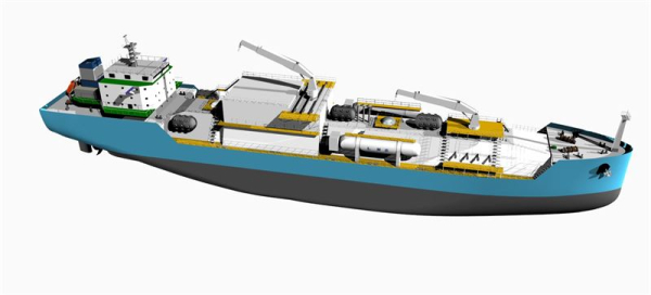 photo of China's first LNG bunker vessel to feature integrated Wärtsilä solutions image